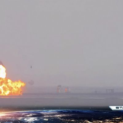 SpaceX räjähti taas