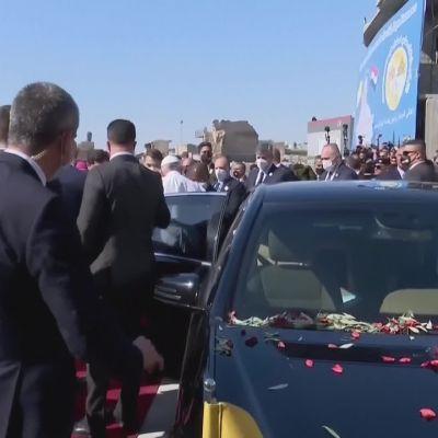 Paavi vieraili Mosulissa
