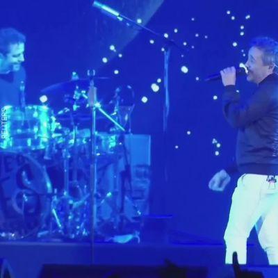 Rock-konsertti koronan aikaan Barcelonassa