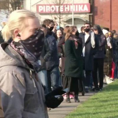kö, vaccin, lettland