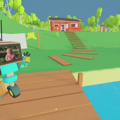 Tältä näyttää Yle Urheilun virtuaalisella kesämökillä