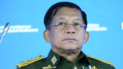 Juntans ledare Min Aung Hlain har utropat sig till premiärminister åtminstone fram till år 2023.