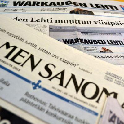 Warkauden Lehti ja Iisalmen Sanomat.
