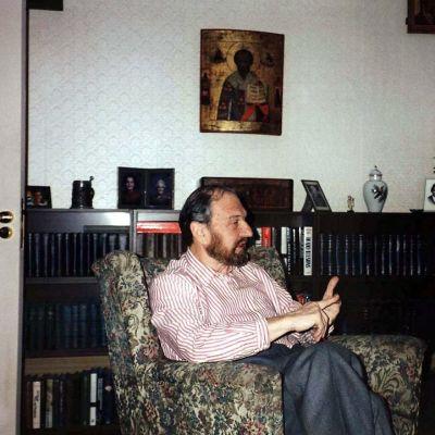 George Blake Moskovassa vuonna 1997.