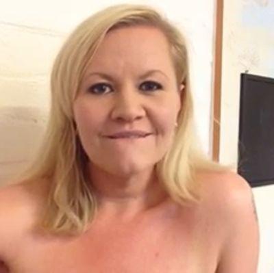 Skärmdump av Lotta Backlunds videobidrag till #reclaimRuneberg
