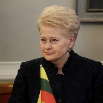 Liettuan presidentti Dalia Grybauskaite