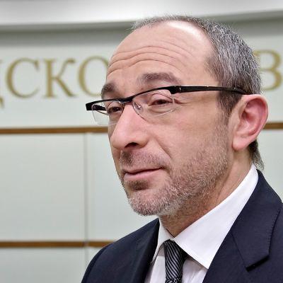 Harkovan pormestari Gennadi Kernes.