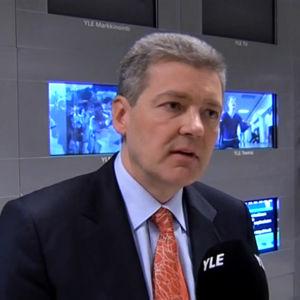Yleisradion tuleva toimitusjohtaja Lauri Kivinen maaliskuussa 2010.