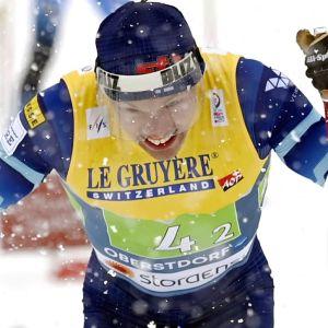 Iivo Niskanen kör i VM 2021.