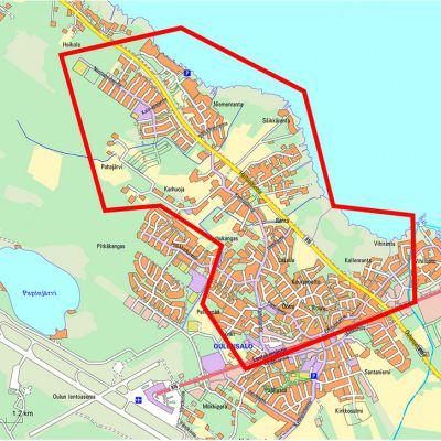 Oulunsalon vedenkeittoaluetta on lajennettu 6.11.2018