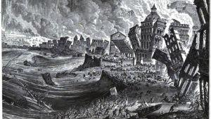 Tsunami, Lissabon 1755.