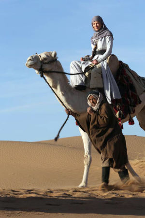 Nicole Kidman i filmen Queen of the desert