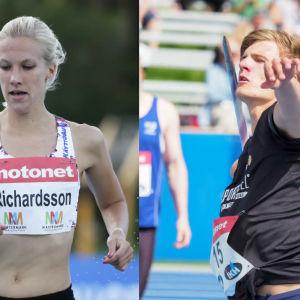 Camilla Richardsson och Oliver Helander.