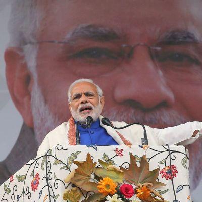 Intian pääministeri Narendra Modi