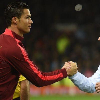 Cristiano Ronaldo ja Lionel Messi kuvassa