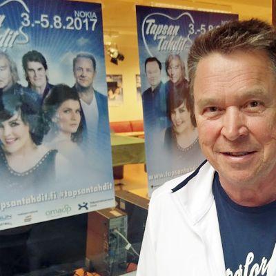 Iskelmä-Finlandia -voittaja Markku Aro.