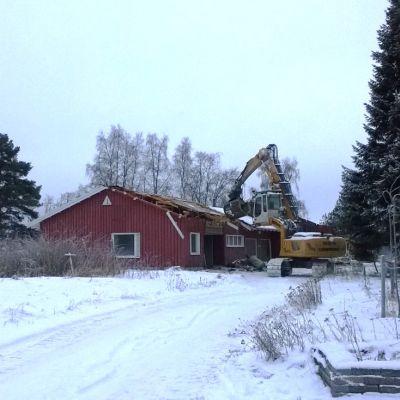 Metsäruusu entinen luonto-opisto Rovaniemen Ojanperällä.