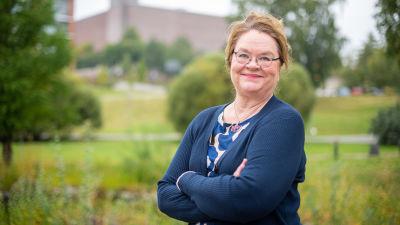 Företagaren och robotikexperten Cristina Andersson.
