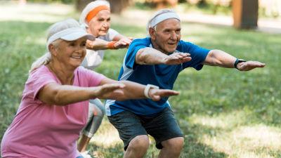pensionär, motion