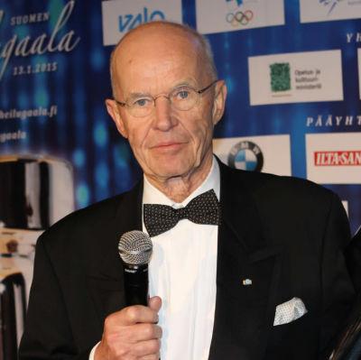 Peter Tallberg fick pris på idrottsgalan.