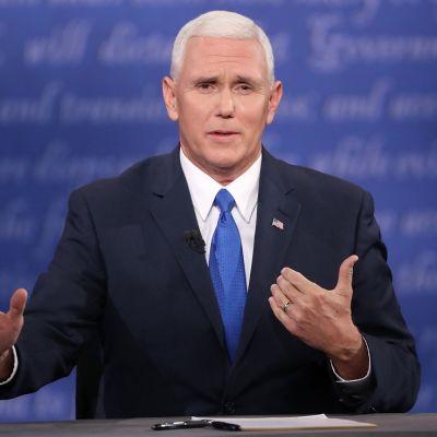 Republikaanien varapresidenttiehdokas Mike Pence
