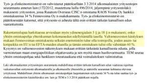 Regeringens (stubbs) principbeslut om Fennovoima