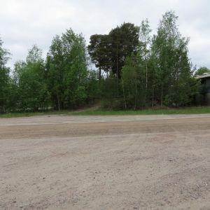 Den plats där en ny brandstation kunde byggas i Karis.
