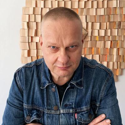 Pianisti Iiro Rantala keväällä 2021.
