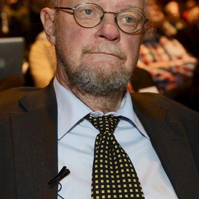 Kansanedustaja Osmo Soininvaara Sitran seminaarissa kestävästä talouspolitiikasta Helsingissä 30. tammikuuta 2014.