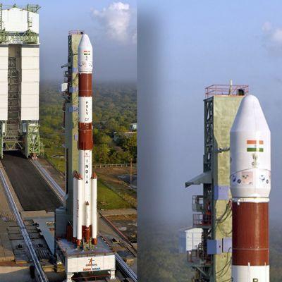 Intialaisen raketin PSLV-C37 lastina oli 104 satelliittia.