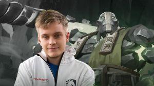 """Jesse """"JerAx"""" Vainikka on suomalainen Dota 2 -pelaaja"""