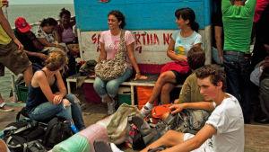 Nuoria veneessä Latinalaisessa Amerikassa