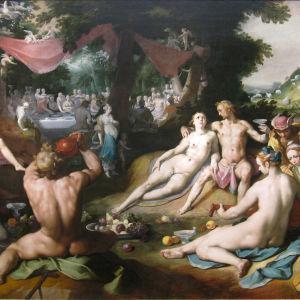 Cornelis Cornelisz van Haarlem – De bruiloft van Peleus en Thetis