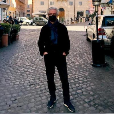 Kapellimestari Jukka-Pekka Saraste Zürichissä maaliskuussa 2021.