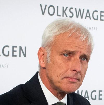 Volkswagens nya koncernchef Matthias Müller