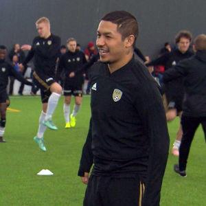 Moshtagh Yaghoubi spelar fotboll för SJK i Seinäjoki.