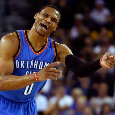 Oklahoma City Thunderin Russell Westbrook