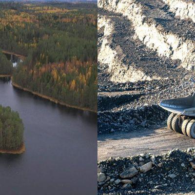 Idag provborras det efter mineraler på naturskyddsområden. Men än så länge har ingen gruva öppnats på skyddsområden.