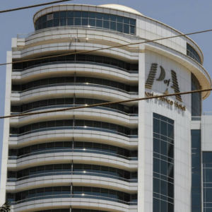 Pearl of Africa-hotellet i Kampala, Uganda.