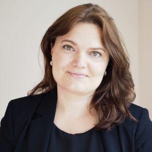 Porträtt av Heidi Harju-Luukkainen.