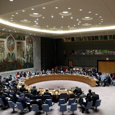 YK:n turvallisuusneuvosto