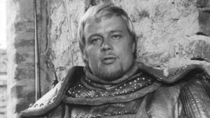 Matti Salminen Olavinlinnassa vuonna 1974 ohjelmassa Salminen Savonlinnassa.