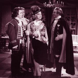 Kohtaus tv-teatterin näytelmästä Kustaa III.