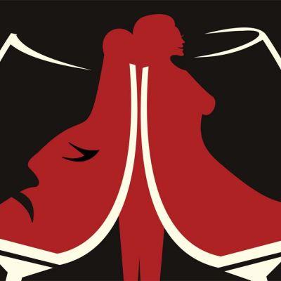 Humalan hurmio & viinan kirous -näyttelyn julisteet kertovat raittiusaatteesta.