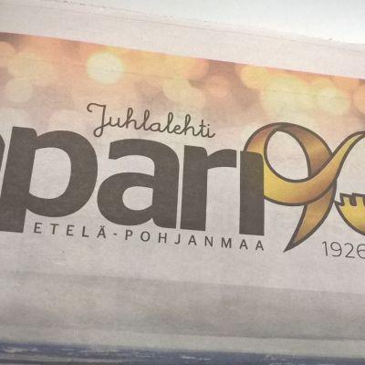 Kaupunkilehti Epari perustettiin 1926. Lehdellä on ollut monta nimeä.
