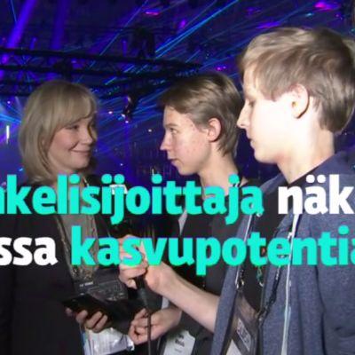Yle Uutisluokka: Koulun käytävällä syntyi potentiaalinen startup