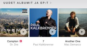 Apple Music Uutuudet