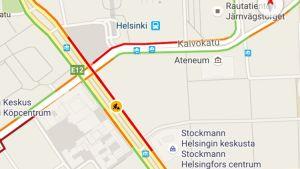 google maps liikenne