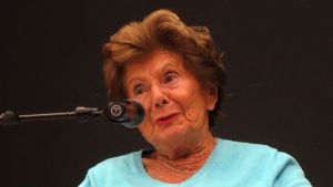 Livia Fränkel, överlevare från koncentrationslägren.