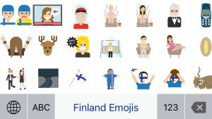 finland emojis